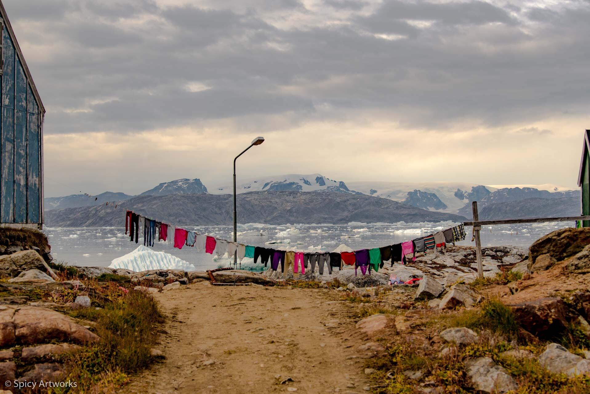 DER DONNER DES BLAUEN EISES - GRÖNLAND 2017 - Teil 4: Kalaalit Nunaat: Das Land Der Menschen